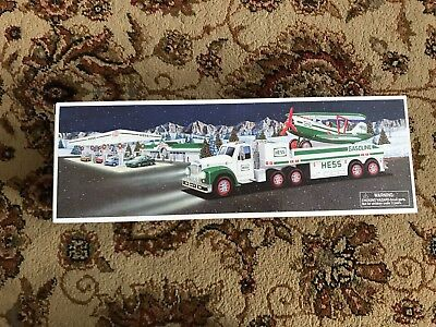 New 2002 Hess TOY TRUCK and AIRPLANE Brand New Collectible NIB