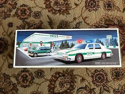 New 1993 Hess PATROL CAR Brand New Collectible NIB
