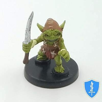 Goblin Warrior (Red) - Heroes & Monsters #1 Pathfinder Battles D&D Miniature