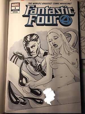 Fantastic Four 1 Sketch Cover Variant