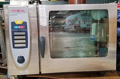 Rational Self-cooking Center Gas Combo Oven SCC-62G