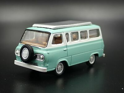 1965 Ford Econoline Camper Van Tan Rare 1/64 Scale Limited Diecast Model Car