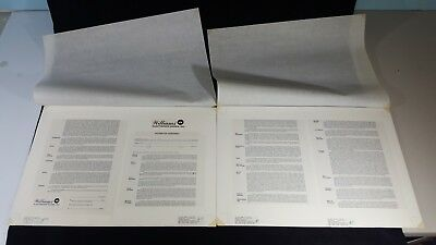 Original 1985 Williams Pinball Distributor Agreement Typeset Proof-One of a kind