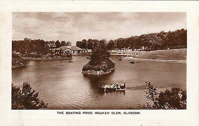 The Boating Pond, Rouken Glen, GLASGOW, Lanarkshire RP