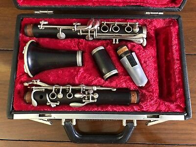 Vintage Buffet Crampon Paris Clarinet S1 Professional Made In France Music