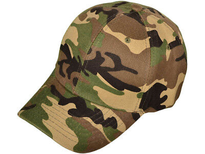 Deep Woods Army Camo hat baseball cap hunting camouflage NEW paintball army