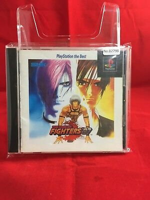 USED The King of Fighters '97 PiayStation the Best  No.2798