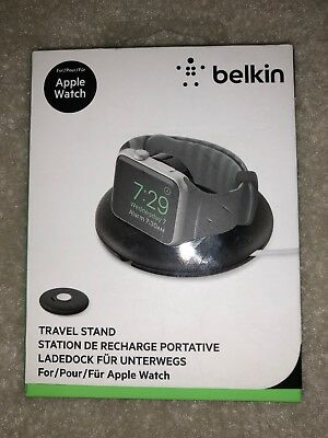 Belkin Travel Charger Stand Apple Watch Series 1 & 2 38mm/42mm NightStand New!