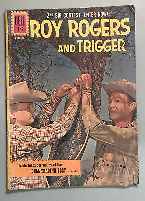 Roy Rogers And Trigger #145 1961 Dell
