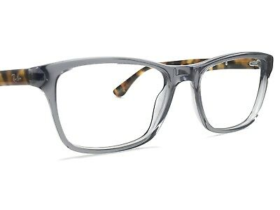 5d4a0a3531ee1 Authentic Ray Ban RB5279 5629 Opal Gray   Tortoise Rx Eyeglass Frames 55 18~