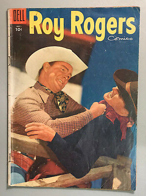 Roy Rogers Comics #89 Golden Age Dell Western 1955