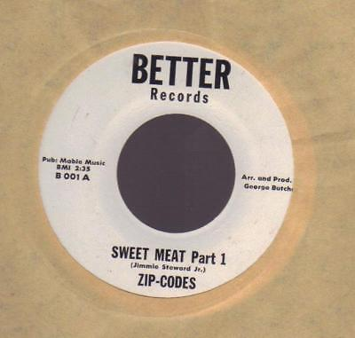 ZIP-CODES ON BETTER 45rpm : Sweet Meat