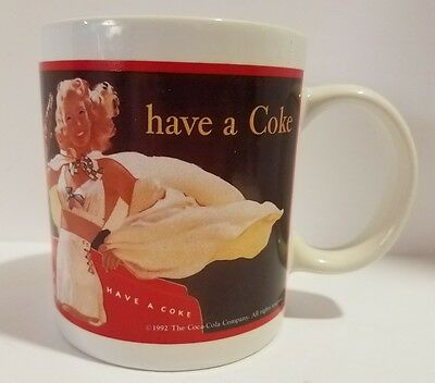 """Coca-Cola Play Refreshed..Have a Coke Coffee Tea Mug Cup """"1948"""" Indoor Poster"""