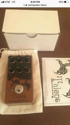EarthQuaker Devices Talons Overdrive Pedal