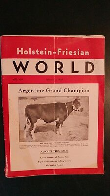 Holstein World 1949 Auction Sales Of 1948 + 1948 All-Canadian Awards + Elmwood