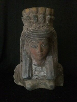 ANCIENT EGYPTIAN ART EGYPT Antiquities STATUE QUEEN Ahmose Nefertari-5Kg STONE
