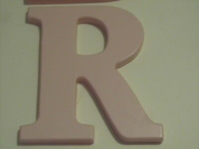 """Nursery Room Letter Decor ~ Wooden Name Letter For Door Or Wall """" R """""""