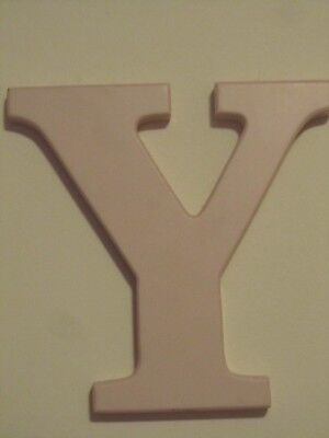 """Nursery Room Letter Decor ~ Wooden Name Letter For Door Or Wall """" Y """""""