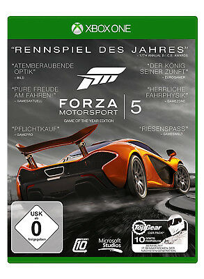 Forza Motorsport 5 - Game of the Year Edition - Xbox One - Neu & Ovp