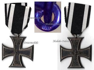 GErmany WW1 Medal Iron Cross EK2 We Military Decoration WWI 1914 - 1918 German