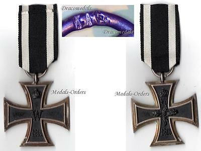 GErmany WW1 Medal Iron Cross EK2 KAG Military Decoration WWI 1914 - 1918 German