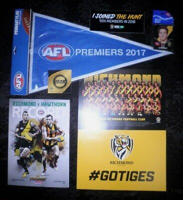 Richmond v Hawthorn 2018 AFL Record + more.