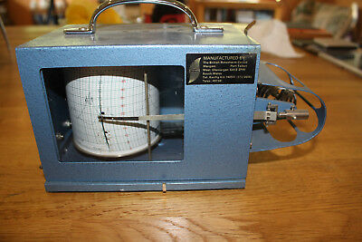 Thermograph, British Rototherm, Metal Cased,good Working Condition