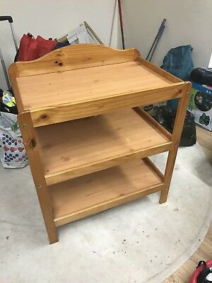 Baby Changing Dresser Station Unit Table
