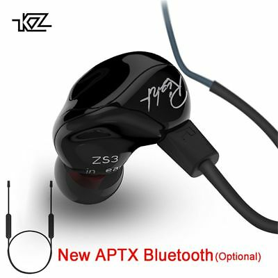 Music In-ear Super Bass Dynamic Drive HIFI Hybrid Headphone KZ ZS3 Earphone