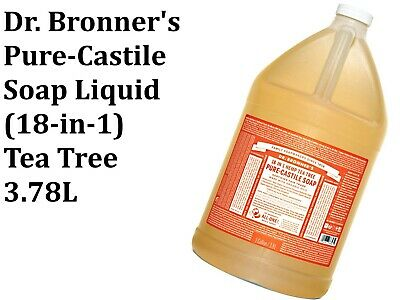 DR BRONNERS Pure Castile Liquid Soap - Hemp Tea Tree 3.78L ( Bronner's )