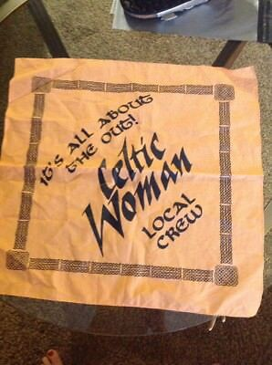 Celtic Woman Local Crew Cotton Scarf It's All About The Out!