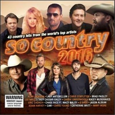So Country 2016 Various Artists 2 Cd New