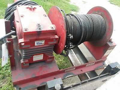 Thern Winch Single Drum Electric
