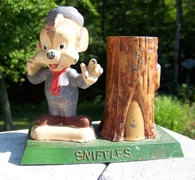 Vintage Sniffles The Mouse Bank  Warner Brothers Cartoons  Merrie Melodies