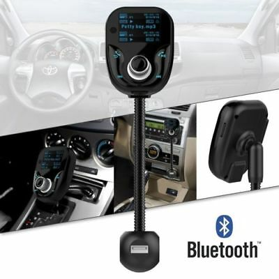New Bluetooth Car Kit Wireless FM Transmitter 3 USB Charger Audio MP3 Player