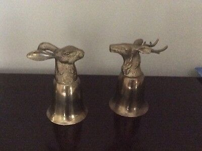 Stag And rabbit Hunting Chalice