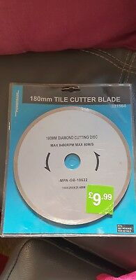 Powerbase 180mm Tile Cutter Blade