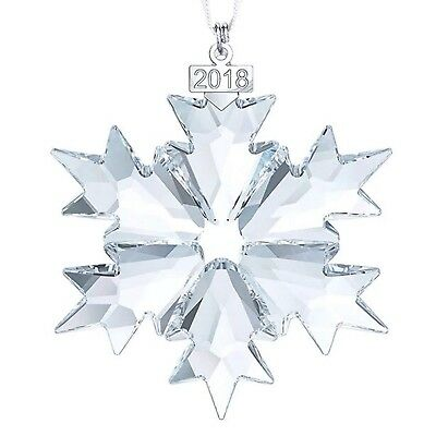 XIANGBAN 2018 Crystal Snowflake Star Ornament Annual Edition Christmas