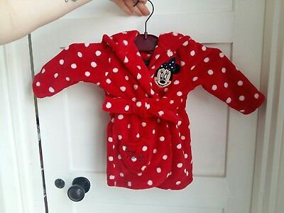 baby girl disney dressing gown 3-6 months