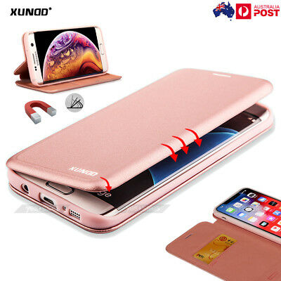 iPhone Xs Max Xs XR Case XUNDD Flip Leather Wallet Card Holder Magnetic Cover
