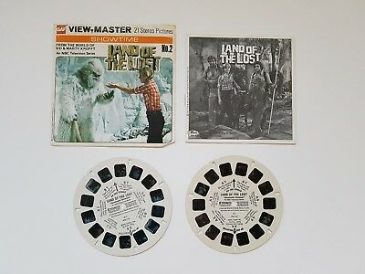 Land Of The Lost 1977 Viewmaster Reels - Vintage / Original / Rare C078