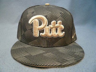 finest selection 8aca7 340a7 Nike Pitt Panthers Anthracite BRAND NEW snapback hat cap Pittsburgh Football
