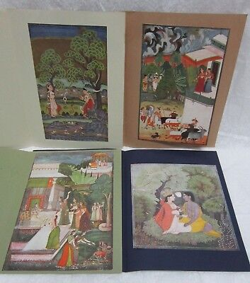 Prince Of Wales Museum Of Western India Bombay 4 Folder Art Pictures 1972 & 1978
