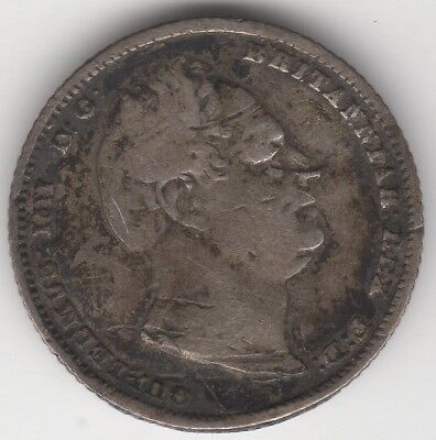 1834 William IV Silver Sixpence | British Coins | Pennies2Pounds