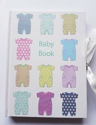 New Baby Record Book/ Keepsake/Journal - Baby Shower/ Mum to be/pregnancy