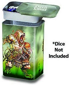 ULTRA PRO DARKSIDE OF OZ WICKED WITCH DECK VAULT TIN BRAND NEW CHEAP !!