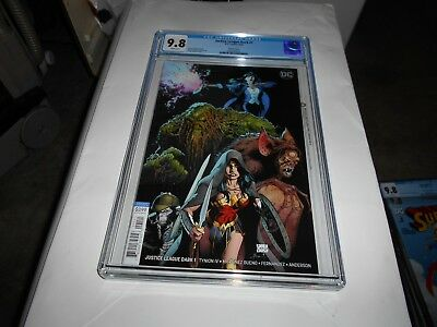 Justice League Dark #1 Cgc 9.8 (Variant Cover) (Combined Shipping Available)