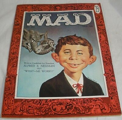 Mad Magazine #30 first appearance of Alfred E Neuman lightly read condition