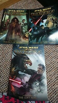 Star Wars The Old Republic Volumes 1 2 & 3 Comics TPB Threat of Peace Lost suns