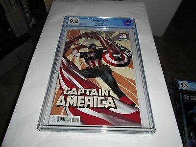 Captain America #1 Cgc 9.8 (Adam Hughes Variant) (Combined Shipping Available)